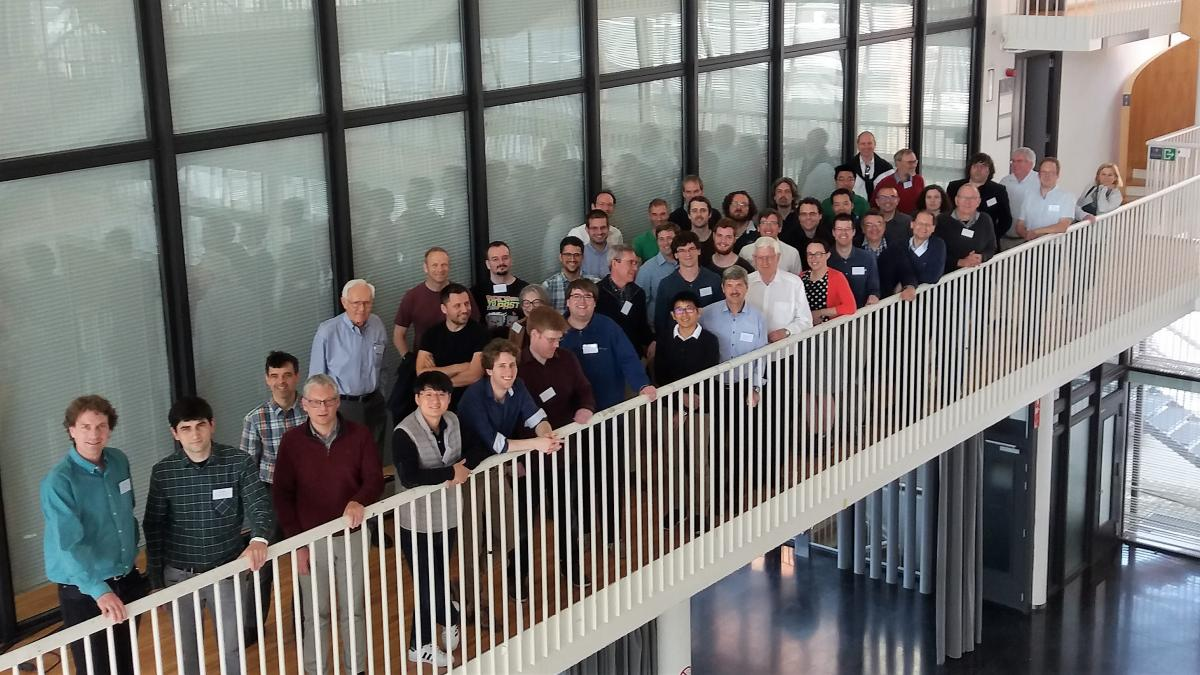 participants at PQ-DFT 2019 in Louvain-la-Neuve